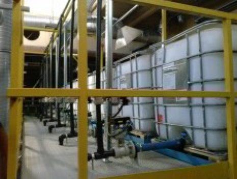 Stacja do produkcji impregnatu